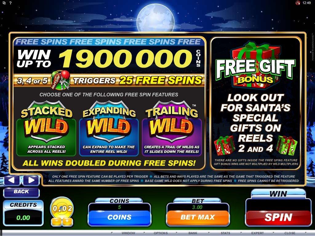 Santas Spins Slot Machine