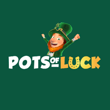 pots of luck casino logo